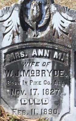 Ann M. McBryde