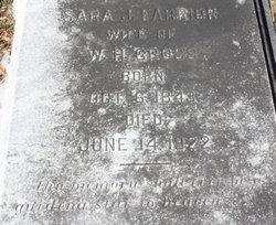 Sara Jane <I>Farrior</I> Cross