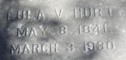 """Louisiana Virginia """"Lula"""" <I>Hughes</I> Hurt"""