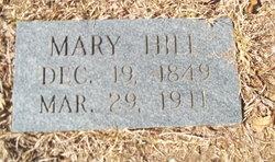 Mary <I>Waters</I> Hill
