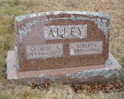 "Alberta ""Bertie"" <I>Alley</I> Alley"