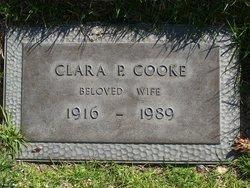 Clara Frances <I>Pettit</I> Cooke