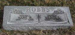 Mary Belle <I>Landon</I> Hobbs