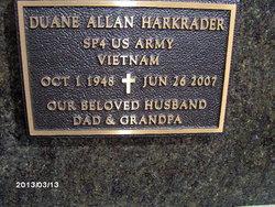 Duane Allan Harkrader