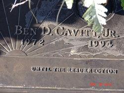 Ben D Cavitt, Jr