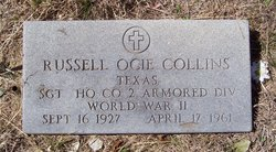 Sgt Russell Ocie Collins