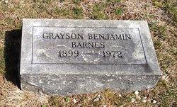 Grayson Benjamin Barnes