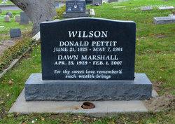 Dawn <I>Marshall</I> Wilson