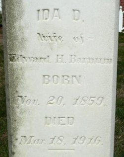 Ida D <I>Hargett</I> Barnum