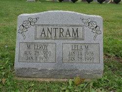 Lela May <I>Hartman</I> Antram