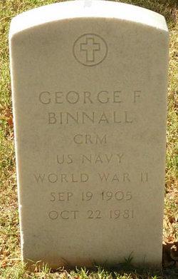 George F Binnall
