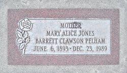 Mary Alice <I>Jones</I> Pelham