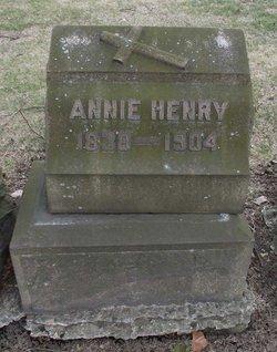 Annie <I>Bradley</I> Henry