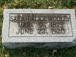 Sarah Alice <I>Caulk</I> Wooley