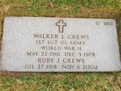 Walker L Crews