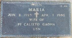 Maria Gaona