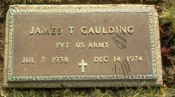 James T Gaulding