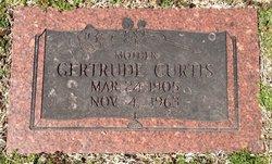 Gertrude Emma <I>Michael</I> Curtis