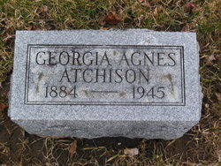 Georgia Agnes <I>Hitchell</I> Atchison