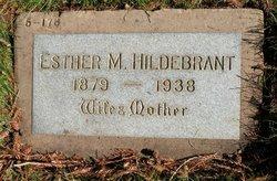Esther M. Hildebrant