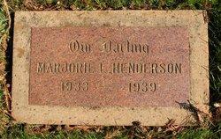 Marjorie L. Henderson