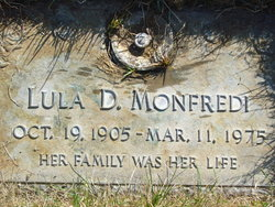 """Lula Dell """"Betty"""" <I>Riser</I> Monfredi"""