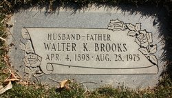 Walter Kiddle Brooks