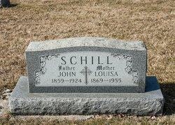 Louisa Margaret <I>Hutt</I> Schill