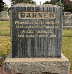 Franklin Wile Barnes