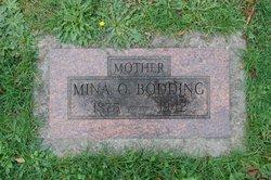 Mina Karoline <I>Olsen</I> Bodding