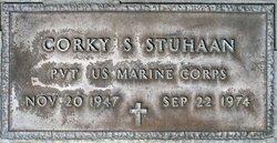 """Pvt William S. """"Corky"""" Stuhaan"""