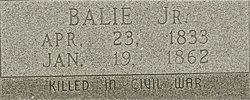 Balie Peyton, Jr