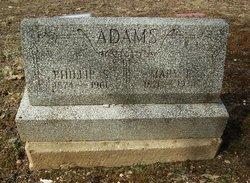 Mary Elizabeth <I>Hinsen</I> Adams