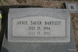 Annie <I>Sauer</I> Bartlett