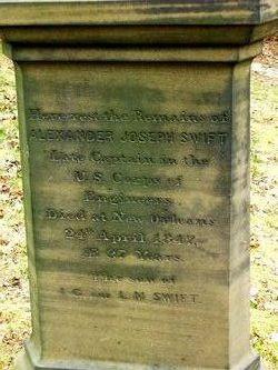 Capt Alexander Joseph Swift