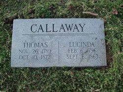 Lucinda <I>Anderson</I> Callaway