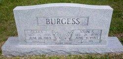Clara Jane <I>Thomas</I> Burgess