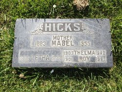 Mabel <I>Hardten</I> Hicks