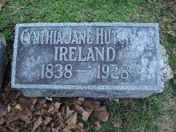Cynthia Jane <I>Hutchins</I> Ireland