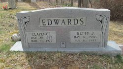 Betty <I>Ricker</I> Edwards
