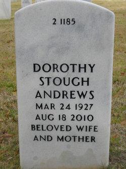Dorothy M <I>Stough</I> Andrews