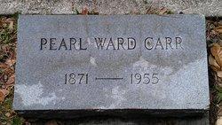 Pearl <I>Ward</I> Carr