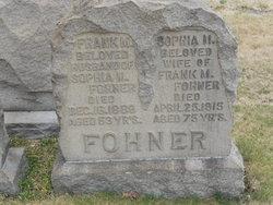 Sophia <I>Gocke</I> Fohner