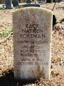 Zack Nathen Foreman