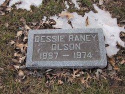 Bessie <I>Raney</I> Olson