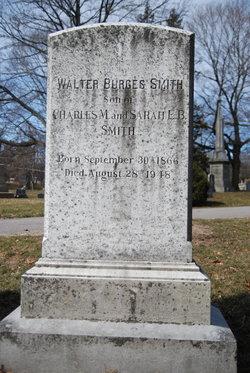 Walter Burges Smith