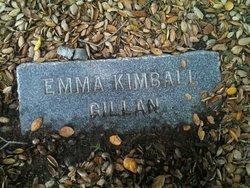 Emma Kimball Gillan