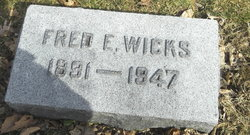 Fred Ernest Wicks
