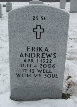 """Erika """"Mima"""" <I>Stebani</I> Andrews"""