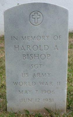Harold A Bishop